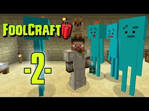 Dansk Minecraft - FoolCraft 3 #02 - Roguelike Dungeon og MeeCreep venner (HD)