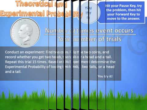 7 4 2 Theoretical and Experimental Probability pptx