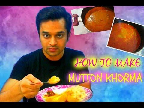 How to- Authentic Mutton Khorma /Hyderabadi Cuisine / FoodChenBySana