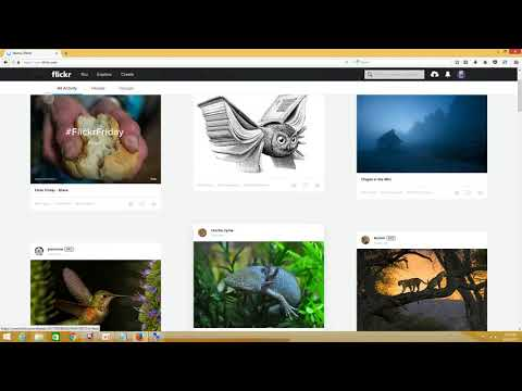 #006. Sign up for a Flickr account | create a Flickr account with yahoo mail
