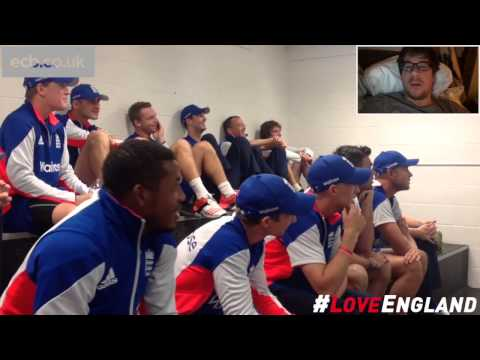 England watch fans' video messages ahead of ICC Cricket World Cup