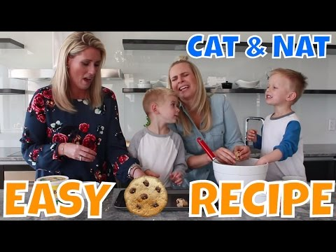Easy Cookie Dough Recipe with Becel Margarine | In The Kitchen with Cat & Nat