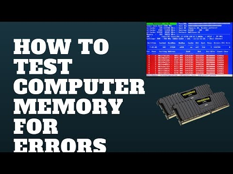 How to Test Computer Memory For Errors