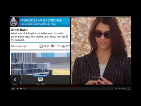 BBM Channel, BBM Social Network Rolls out, See the Advertising Video on Youtube