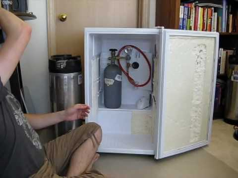 Converting a Magic Chef 4.4 cubic feet mini fridge into a KEGERATOR!