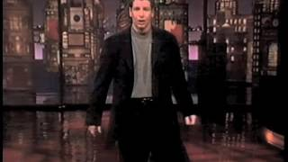 Jeff Ross on Late Show, April 13, 1995