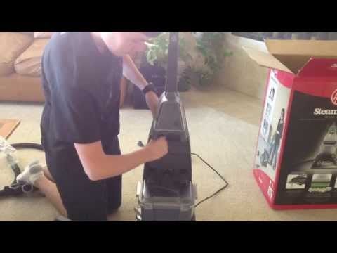 Hoover SteamVac Unboxing and Assembly