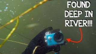 I Found a Working GoPro Underwater in the River! (Returned To Owner, GREAT REACTION!)