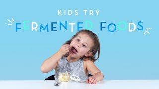 Kids Try Fermented Foods   Kids Try   Cut
