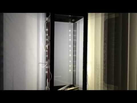 7400 lumens of LED light for you Vertical Terrarium