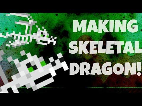 Growtopia   Making SKELETAL DRAGON! Halloween 2016!