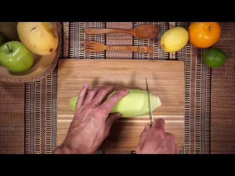 How to shuck Corn