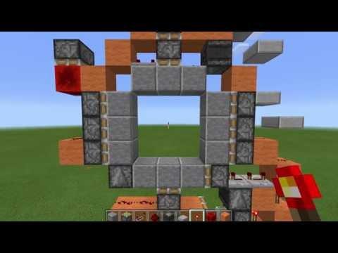 Very Compact 3x3 Piston Door (120 Blocks) | MCPE 0.15+