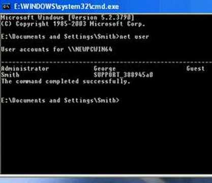 Bypass Administrator Password In Windows XP