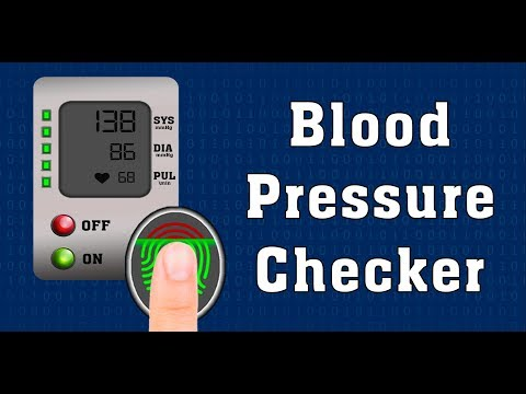 Blood Pressure Checker Prank - How to check blood pressure on mobile devices