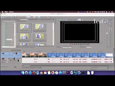 Sony Vegas Pro11 Primeros Pasos_Herramientas y Transiciones  Mac OS P4