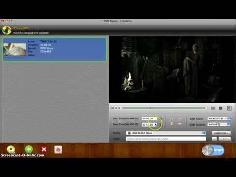 How to Rip DVD on Mac OS X (Including Lion)