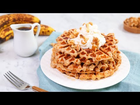 WAFFLES 5 Delicious Ways | Happy Waffle Day