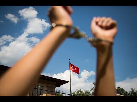 #FreeRightsDefenders | Action at Embassy of Turkey