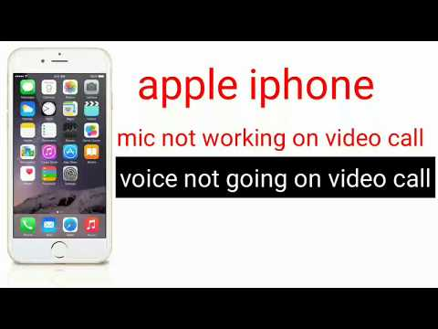iphone 6 mic not working on video call and loudspeker mode easy solution in hindi