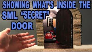 WHAT IS NOW INSIDE THE SECRET DOOR!!