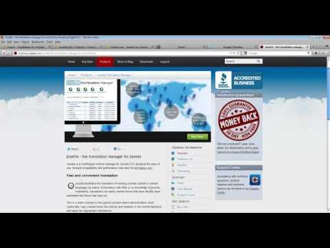 Multilingual Joomla 2.5 Webinar