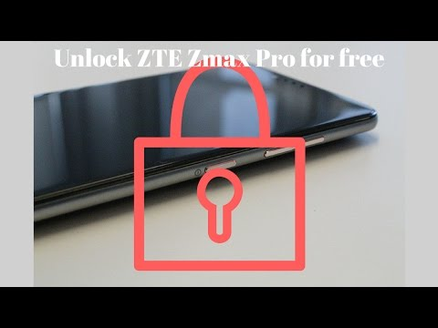 How to unlock the ZTE Zmax Pro for free