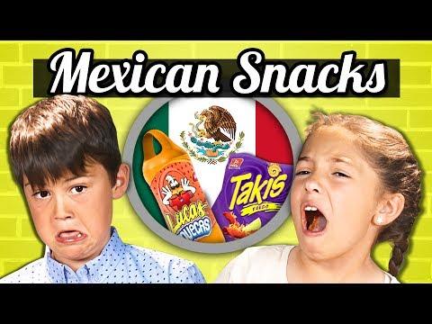 KIDS EAT MEXICAN SNACKS! | Kids Vs. Food