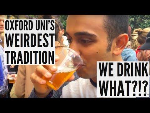 OXFORD'S WEIRDEST TRADITION?!?!