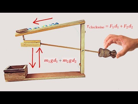 How to Make Amish Marble Machine (Desk Toy)