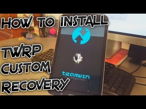 Samsung Galaxy Tab 3 - How to install custom recovery (TWRP 3.0.2-0) [Tutorial]