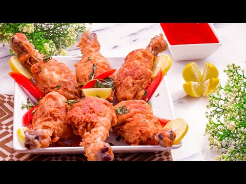 Fried Chicken Drumsticks Recipe By SooperChef