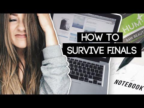 Survive Finals Week! Study Hacks + Tips! | Caitlin Bea