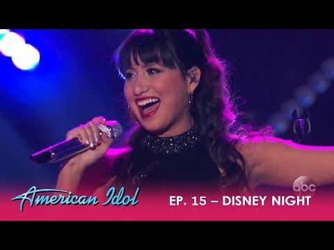 Michelle Susset: SHOCKS Disneyland With Her Amazing Vocals & Latin Flavor! | American Idol 2018