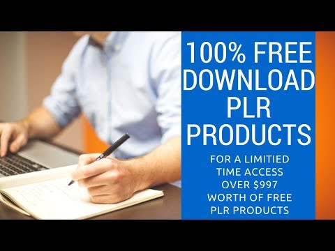 FREE PLR Product Downloads