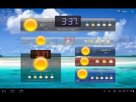 How to add and remove widgets on your Android Tablet or Phone