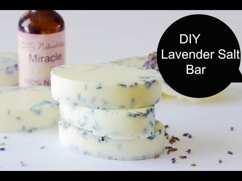 Making Lavender Salt Bars (DIY Saturday Episode 15 ) Laverder Salt Bar DIY