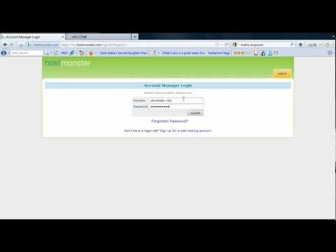 How To Assign and Redirect a Domain Name Using Host Monster