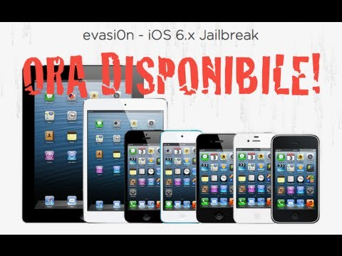 Come eseguire il jailbreak untethered di iOS 6.0.x/6.1 su iPhone, iPod touch e iPad con Evasi0n