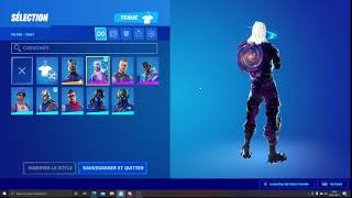 J'echange mon compte fortnite !!! avec le skin galaxy ( snap : aabisaad2019 )