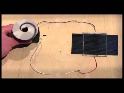 Electricity From Solar Cells