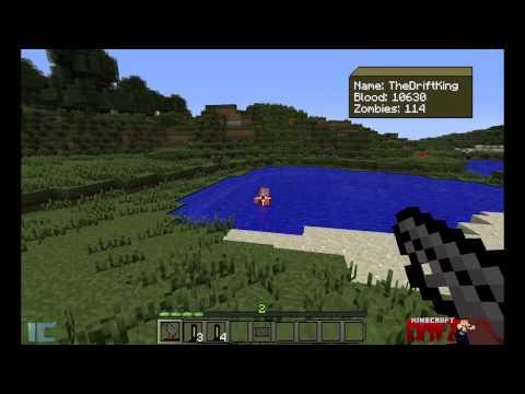 How to install DayZ [MineZ] Mod for Minecraft w/ Review - 1.2.5 - ConceptJohnny