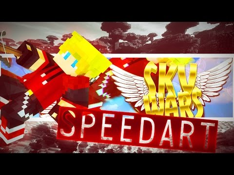 SPEEDART! Minecraft Thumbnail for Skywars - NEW THUMBNAIL & GAMEPLAYS?! ♕ Comment your Reviews :)