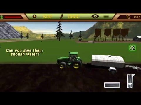 Tractor Farmer Simulator 2 - Gameplay video