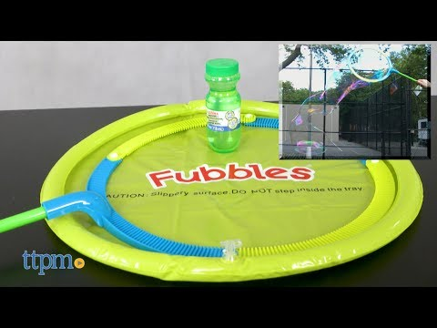 Fubbles Monster Bubble Wand from Little Kids
