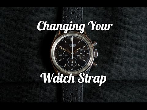 How to Change Your Watch Strap (Without Damaging the Lugs)