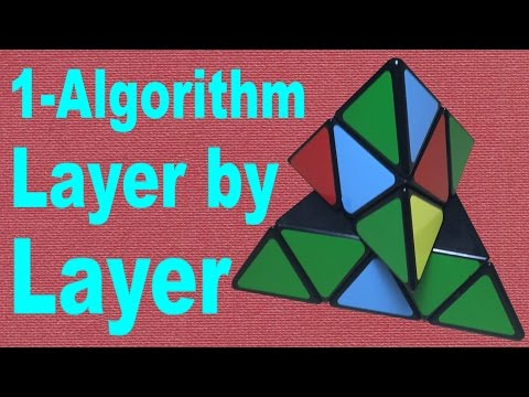 Pyraminx Layer by Layer Tutorial [EASY VERSION]