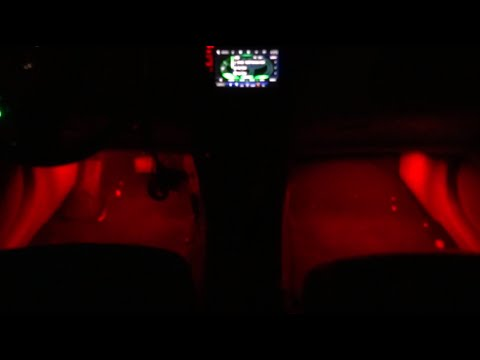 7 Color LEDGlow Interior Lighting with Sound Activation mode!!