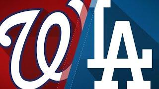 Bellinger, Seager lead Dodgers past Nats - 4/22/18