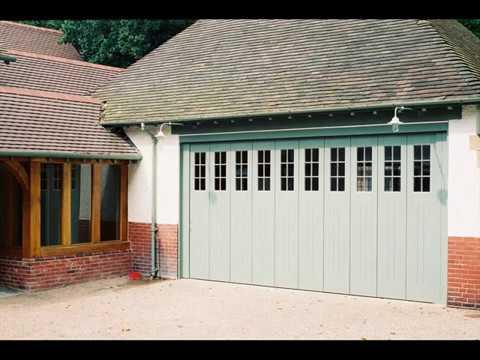 Sliding Garage Doors Wooden Design